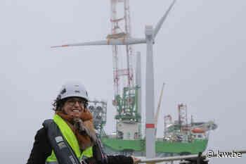 Laatste windmolens van Belgische windmolenzone op zee afgewerkt