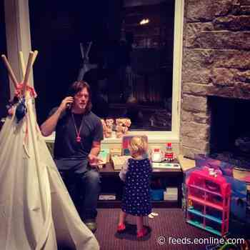 Watch Norman Reedus Help His and Diane Kruger's Daughter With Her ABCs in Rare Family Video