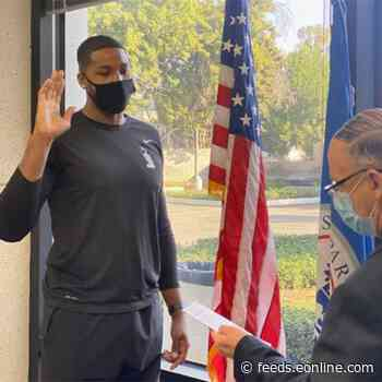Tristan Thompson Becomes a U.S. Citizen Then Jets Off to Boston to Join the Celtics
