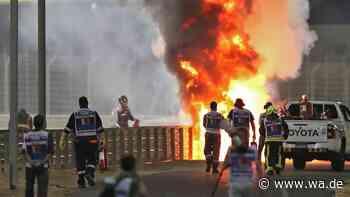 Formel 1 im Live-Ticker: CRASH! FEUER! Heftiger Unfall kurz nach Start - Rennen unterbrochen