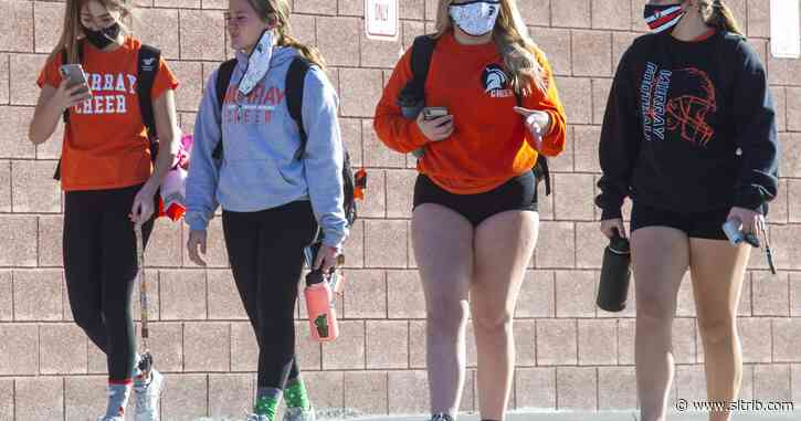 Utah's high schools are seeing more and bigger COVID-19 outbreaks. What can be done to stop it?