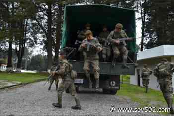 Camión con militares cae en un barranco de ruta Interamericana - Soy502