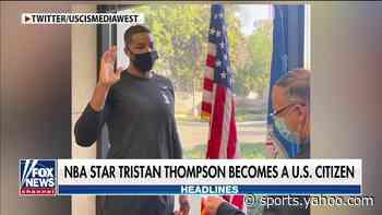 Boston Celtics star Tristan Thompson becomes a US citizen