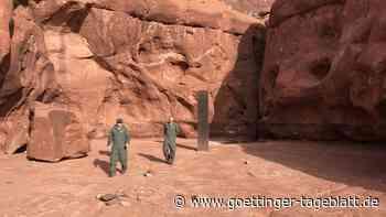 Mysteriöser Monolith in Utah wieder verschwunden