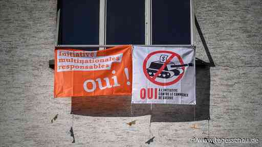 Referendum in der Schweiz: Keine Mehrheit für strengere Firmenhaftung