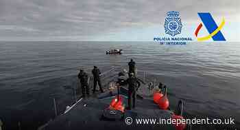 Spanish police seize two tonnes of drugs after high-speed boat chase