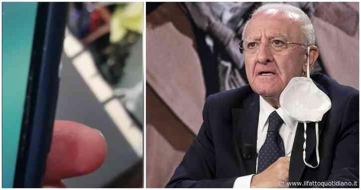"""Campania, l'audio dell'infettivologo: """"Qui spacciano posti letto che non esistono"""""""