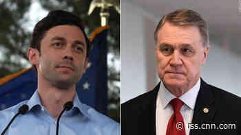 Jon Ossoff defends claim that GOP senator is a 'crook'