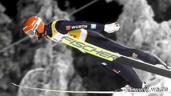 Skispringen: Eisenbichler springt aufs Podest, junger Norweger gewinnt in Finnland