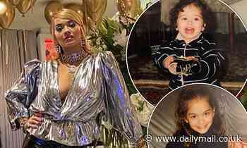 Rita Ora shares adorable throwback snaps of herself as a child amid 30th birthday celebrations