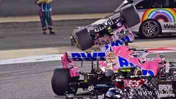 Formel 1 im Live-Ticker: Spektakuläres Rennen läuft nach zwei irren Unfällen - Vettel mit massiven Problemen