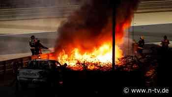Breaking News: Heftiger Feuerunfall schockt die Formel 1, dann siegt Hamilton