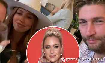 Jay Cutler stirs things up as he enjoys oysters and wine with Shannon Ford