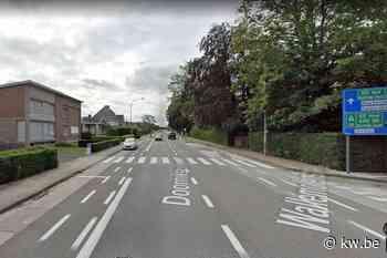 Tijdelijk éénrichtingsverkeer in Doorniksesteenweg richting centrum Kortrijk