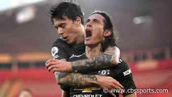 Manchester United vs. Southampton score: Edinson Cavani rescues Red Devils with super sub performance