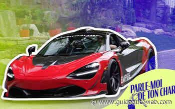 Phil Grisé et sa McLaren 720S