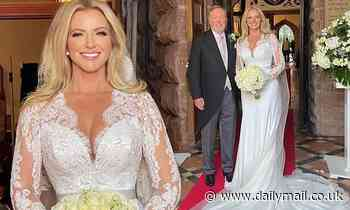 Michelle Mone looks incredible in wedding dress as she poses with new husband Doug Barrowman