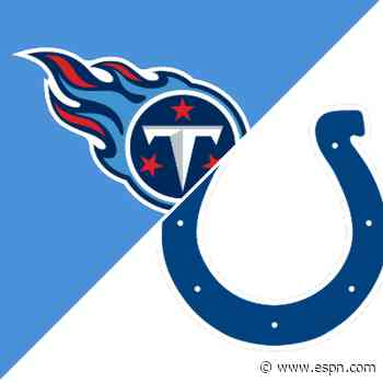 Follow live: Derrick Henry and Titans meet Colts with first place on the line