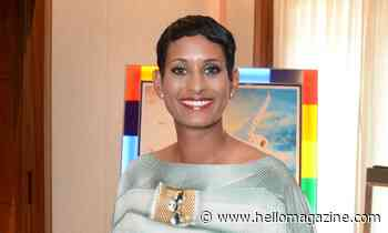 Naga Munchetty gives rare glimpse into home life with post-workout photo