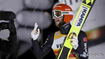 """Führung im Skisprung-Weltcup: Bei Eisenbichler """"bleibt einem Spucke weg"""""""