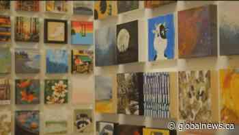 Anonymous Art Show sells art for arts sake