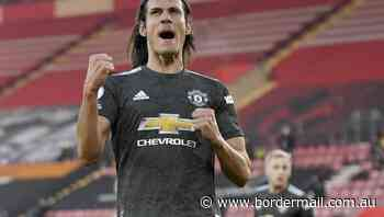Cavani's double fires United to victory - The Border Mail