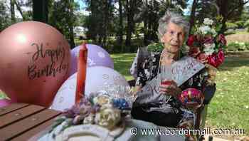 A special celebration ahead of 106th birthday - The Border Mail