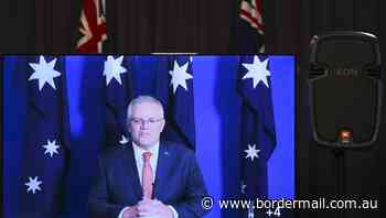 PM to beam in as parliament sits - The Border Mail