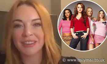 Lindsay Lohan reflects on the recent virtual reunion with the cast of Mean Girls and upcoming sequel