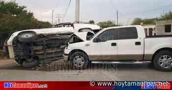 Tamaulipas Encontronazo deja slo daos materiales en Nuevo Laredo - Hoy Tamaulipas