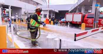 Municipio de Nuevo Laredo desinfectará CITEV y módulo del SAT - Hoy Tamaulipas