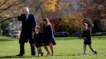 Erstes Interview seit Wahl: Trump schimpft auf US-Gerichte