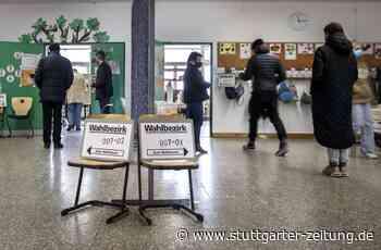 OB-Wahl in Stuttgart - Bis Mittag geringer Andrang in den Wahllokalen - Stuttgarter Zeitung