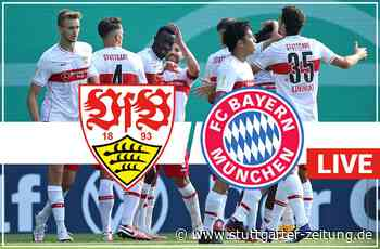 Der Liveticker zum Nachlesen - VfB Stuttgart verliert 1:3 gegen den FC Bayern München - Stuttgarter Zeitung