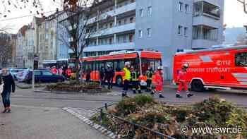Stuttgart: 30 Menschen aus brennendem Haus im Lehenviertel gerettet - SWR