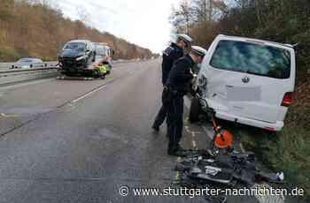 Unfall auf B10 bei Zuffenhausen - In Pannenfahrzeug gekracht – Stauchaos in Richtung Stuttgart - Stuttgarter Nachrichten