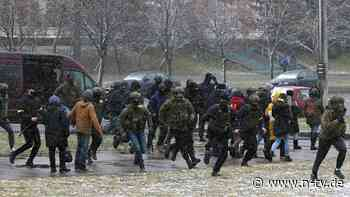 Viele Festnahmen in Minsk: Protestsonntag in Belarus endet mit Gewalt