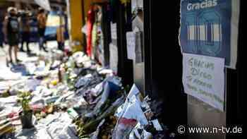 Staatsanwaltschaft ermittelt: Räume von Maradonas Arzt durchsucht