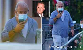 Philip Green enjoys another day relaxing in Monaco as his Arcadia empire is on brink of collapse