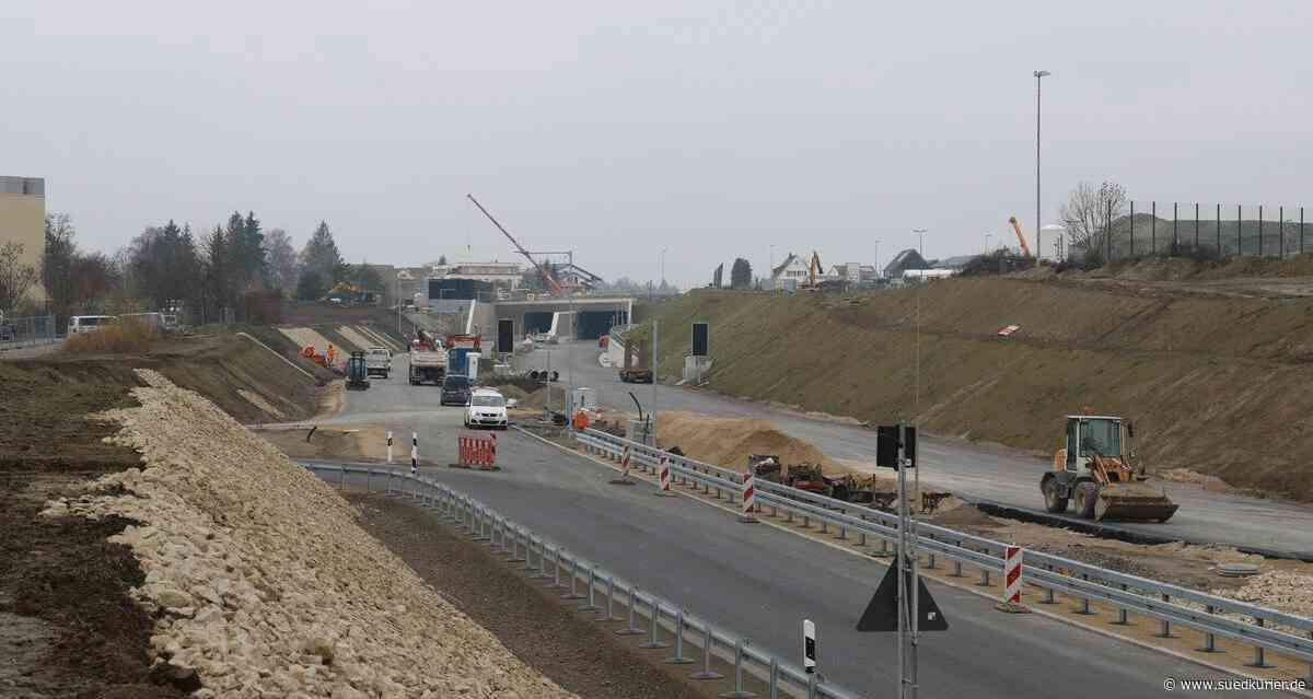 Friedrichshafen/Bodenseekreis: Wie sieht es derzeit auf der B-31-Baustelle aus? - SÜDKURIER Online