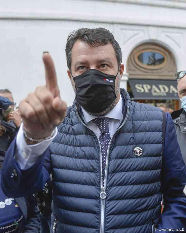 """Salvini: """"Morra è un poveretto. Azzolina cosa nasconde sui contagi nelle scuole?"""""""