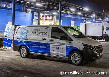 Mercedes España prepara una eVito isotermo refrigerada para Eccentric - Movilidad Eléctrica