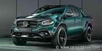 Mercedes Clase X Racing Green Edition: El increíble Hulk - Car and Driver