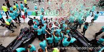 Mercedes podría quitar a Williams de un podio histórico en la Fórmula 1 - Car and Driver