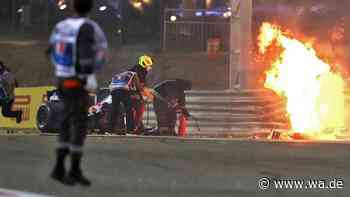 Spektakulärer Bahrain-GP! Horror-Crash überschattet Hamilton-Gala - Update zu Gesundheitszustand von Grosjean
