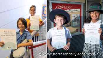 Tamworth Public School, Calrossy student come away district winners in Newcastle Permanent's annual Primary School Mathematics Competition - The Northern Daily Leader