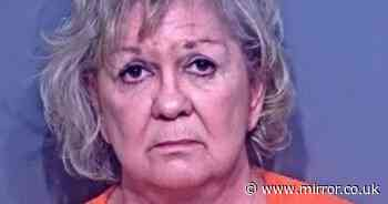 Woman 'stabs herself to fake self-defense after shooting husband dead'