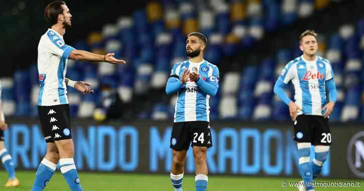 """Il Napoli omaggia il suo campione: in campo con la maglia a strisce bianche e azzurre. E il San Paolo diventerà """"Stadio Diego Armando Maradona"""" – FOTO"""