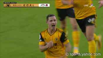 Daniel Podence reclaims Wolves' lead over Arsenal