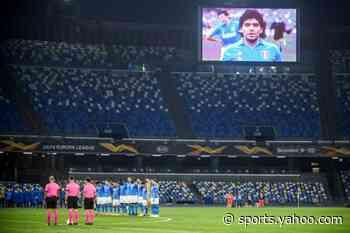 Napoli wear 'Argentina' jersey in honour of Maradona